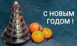 Поздравления с Новым Годом и Рождеством 2019!
