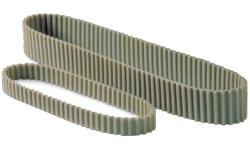 Ремни зубчатые двусторонние метрические полиуретановые