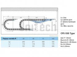 Кабелеукладчик CPS030.25.R48 основа - фото 10