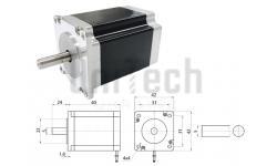 Шаговый двигатель 0.4Nm, 1,8°, 42J1840-408 JMC