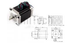 Шаговый двигатель 1,26Nm, 1,8°, FL57STH56-2804A Fulling Motor