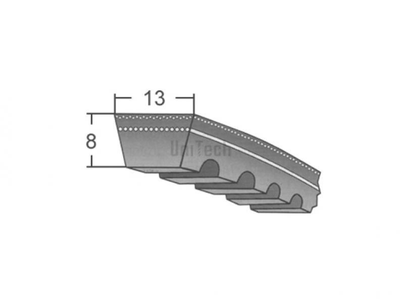 Ремень полиуретановый клиновой 5м 800 гидроизоляция битумом в 2 слоя