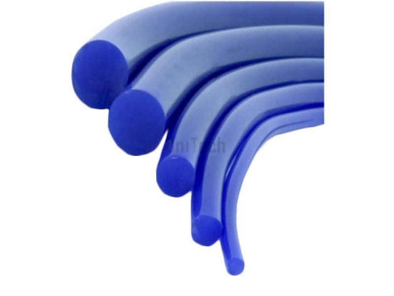 Ремень круглый 08 80A синий гладкий VOLTA FENNER
