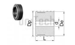Шкив поликлиновой под втулку PJ De= 56 Z=12 (d=9-28) TB1108
