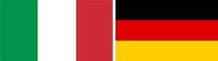 Итальяский и Немецкий флаг