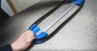 Измеритель длины клинового ремня