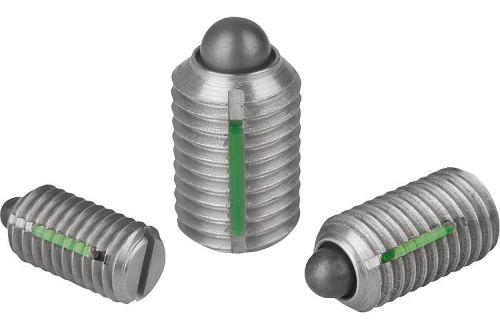 Пружинные фиксаторы, стопорные штифты, блокировочные шаровые болты Kipp